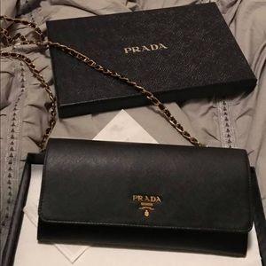 prada saffiano small crossbody bag